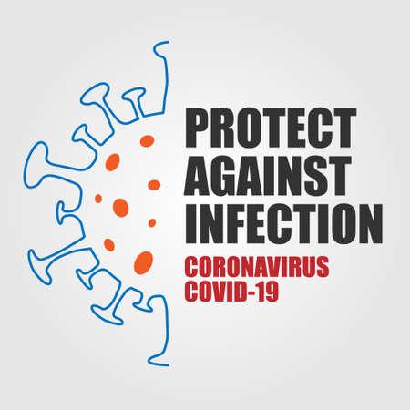 Coronavirus Virus Cell Poster