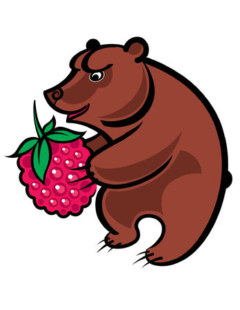 bear berry: Bear and Berry