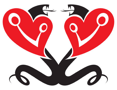 Two Heart Snakes