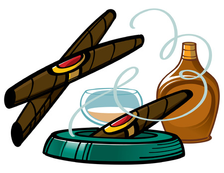 exhalation: Cigars and Brandy