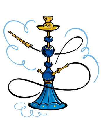 hookah: Hookah Illustration