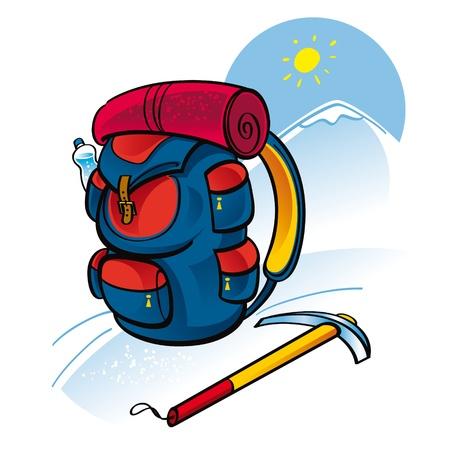 ice climbing: Mountain Climbing - sport, health, recreation