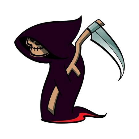 Death - Halloween suit  Vector