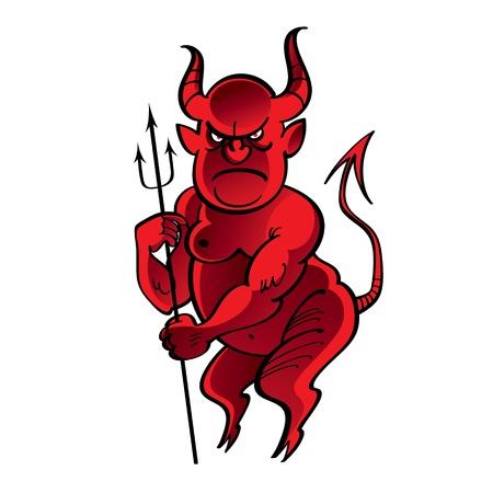 diable rouge: Red Devil satan enfer