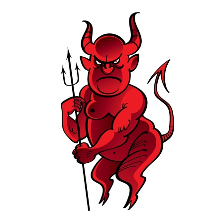 occultism: Red Devil satan hell