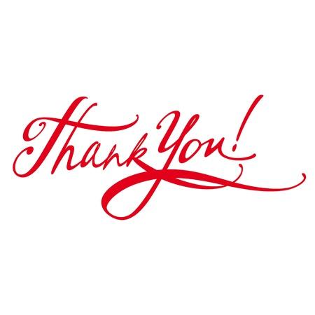 gratitudine: Lettera di ringraziamento firma dei messaggi del documento Vettoriali