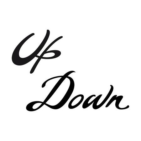 moving down: Up Down direction pointer move button