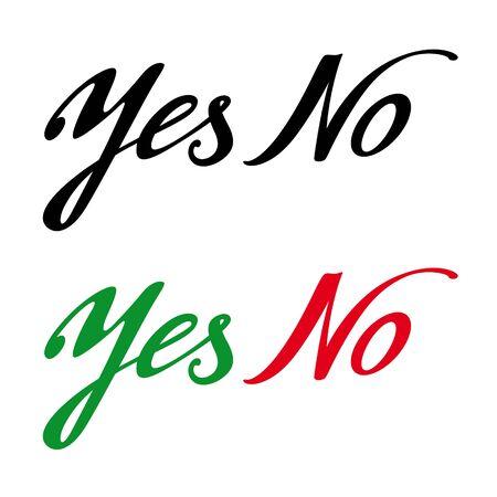 refuse: Yes No permission prohibition answer choise decision refuse