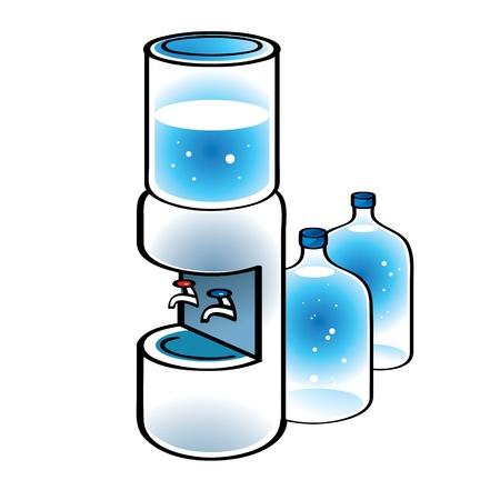 chaud froid: Refroidisseur d'eau Bureau boisson chaude froide rafra�chissante