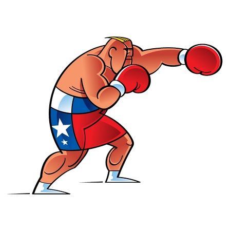 boxing ring: Boxer Fighter in the Ring sport success strong sport health recreation