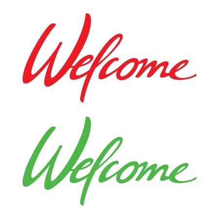 venue: Benvenuti vettore iscrizione vacanza evento compleanno di nozze luogo data card Vettoriali