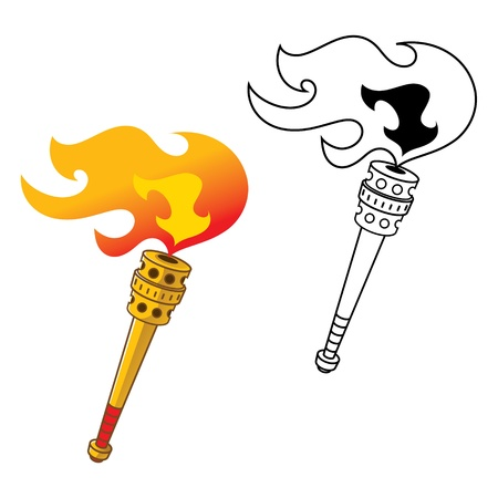 light game: Torch metal gold sports competition games sport fire flame gas