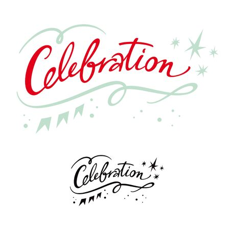 Celebration holiday event party birthday banner stars Stock Vector - 11966835