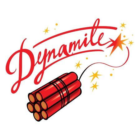 Dynamite bombe explosive feu coup la terreur des étincelles