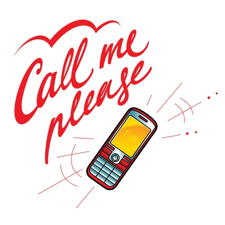 call me: Call me please cell phone network communications technology talk
