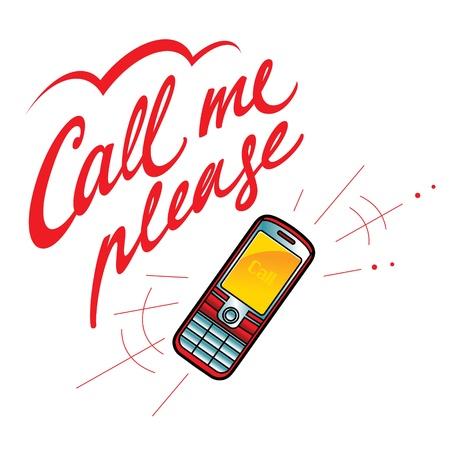 communications technology: Ll�mame por favor tel�fono m�vil de comunicaciones conversaci�n tecnolog�a