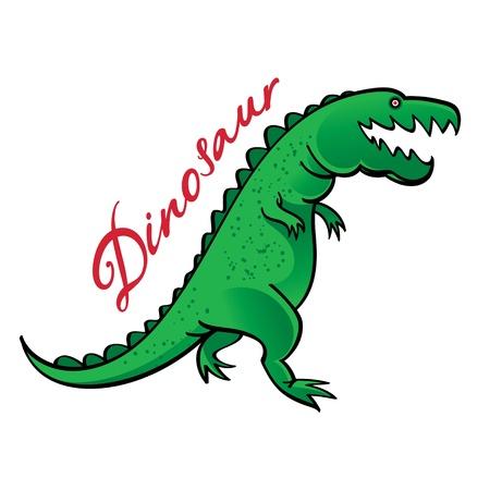 Dinosaur wild animal beast Jurassic tyrannosaurus paleontology Stock Vector - 20282065