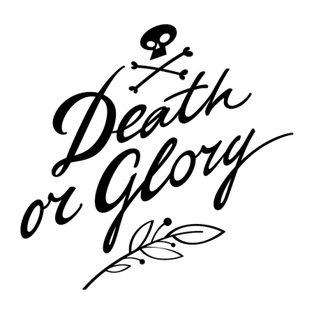 glory: Death or Glory victory war fame battle win defeat lose Illustration