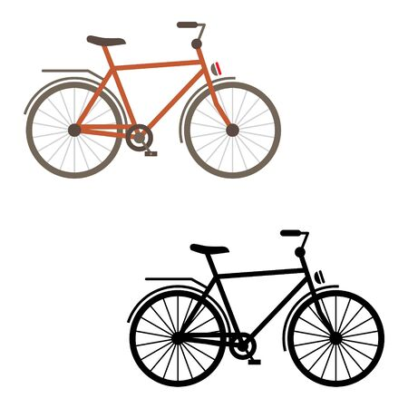 sports race: Bicycle icon - sports race, gear, sport, ride