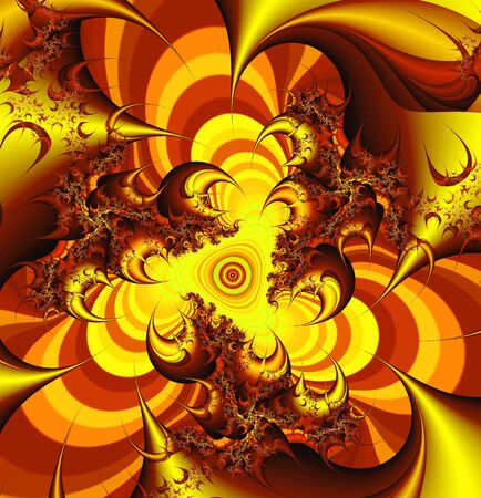 The beautiful abstract pattern Stock Photo - 4632833