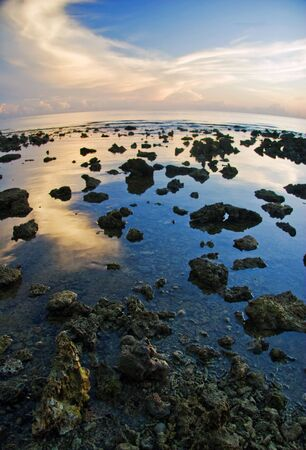 Sunrise on Pemuteran beach, Bali island, Indonesia Stock Photo - 4652592