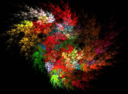 Beatiful color fractal photo