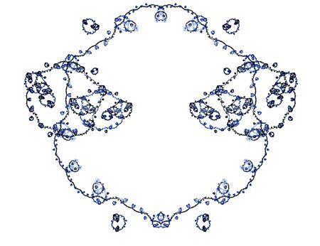 Beatiful color fractal photo