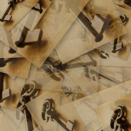 Abstract background with keys in big resolution