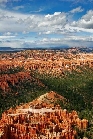 Panorama of Bryce canyon. Utah. USA. Stock Photo - 4699499