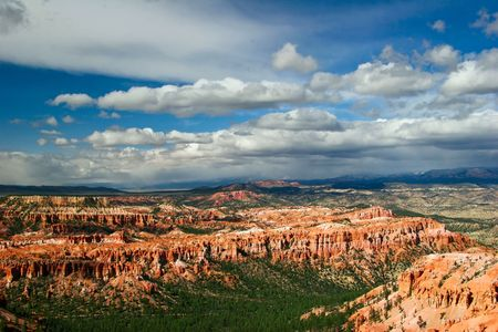 Panorama of Bryce canyon. Utah. USA. Stock Photo - 4761041