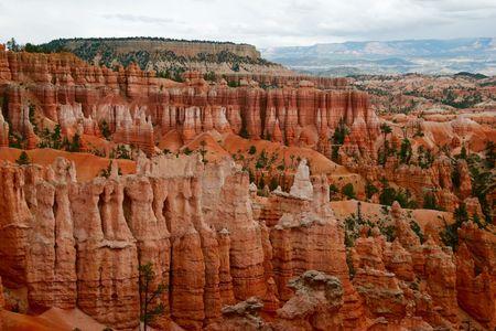 Slopes of Bryce canyon. Utah state. USA Stock Photo - 4760018