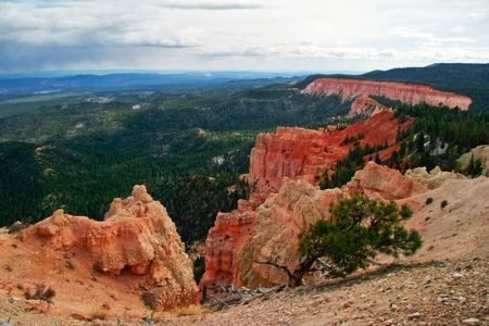 Panorama of Bryce canyon. Utah. USA. Stock Photo - 4761100