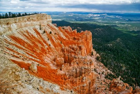 Panorama of Bryce canyon. Utah. USA. Stock Photo - 4761039