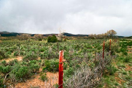 american field service: Landscape of Utah