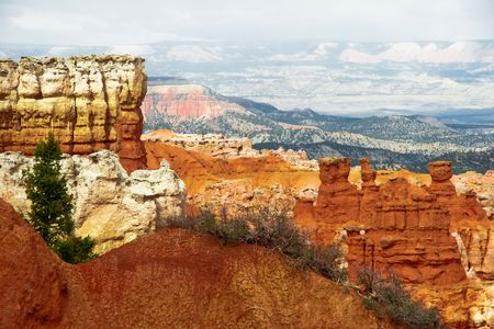 View from viewpoint of Bryce canyon Stock Photo - 5394700
