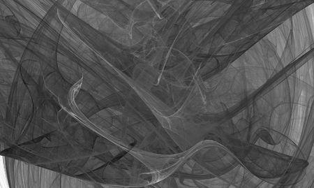 Beatiful black&white fractal photo