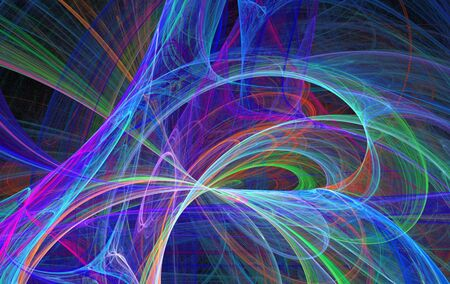 beatiful: Beatiful color fractal Stock Photo
