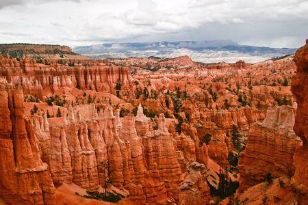 bryce: Slopes of Bryce canyon. Utah. USA