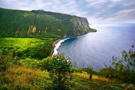 hawai: Ver en el oc�ano en la gran isla. Hawai. USA
