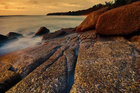 Beatiful sunset in the sea Stock Photo - 6502673