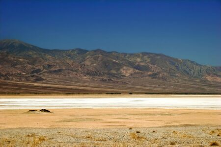Lifeless landscape of the Death Valley. California. USA photo