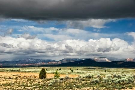 Landscape of Utah state. USA  photo
