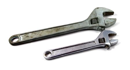 Two wrenches of the different size Stock Photo - 7619677