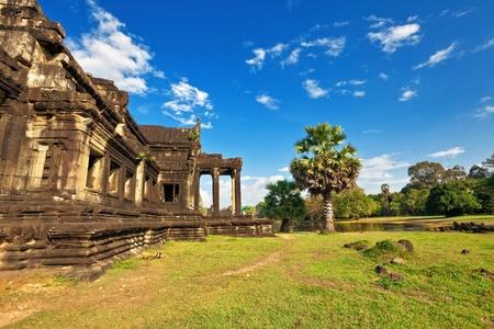 Angkor Wat Temple, Siem reap, Cambodia. Stock Photo - 12108518