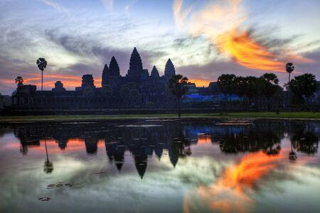 Angkor Wat sunrise at Siem Reap. Cambodia Stock Photo - 12108509