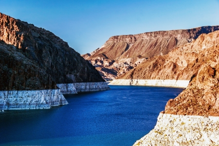 Lake Mead near Hoover Dam, USA photo
