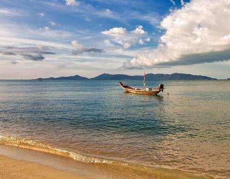 Boats in the tropical sea.Samui island. Thailand  Stock Photo - 15505846