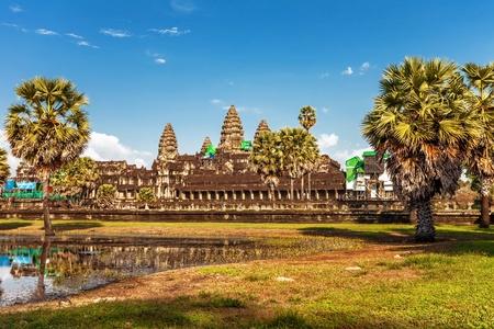 Angkor Wat Temple, Siem reap, Cambodia. Stock Photo - 15441091