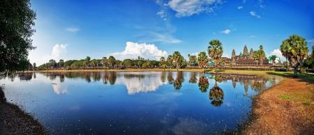 Angkor Wat Temple, Siem reap, Cambodia Stock Photo - 15443928