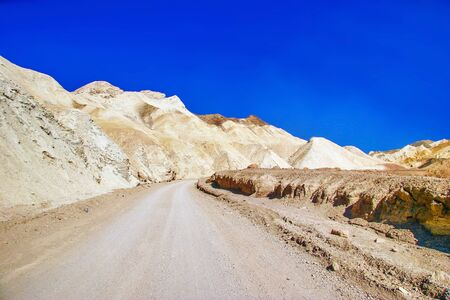 Lifeless landscape of the Death Valley  California  USA  Stock Photo - 16217072